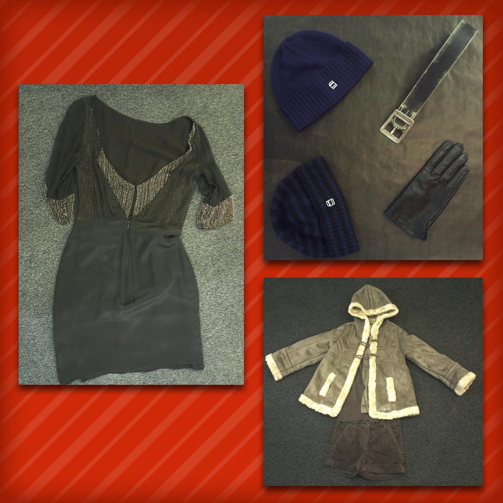 Homme: Bonnets, ceinture et gant G-STAR • Femme: Robe Hoss Intropia • Mino: Manteau DDP, Pull Esprit, Short Esprit