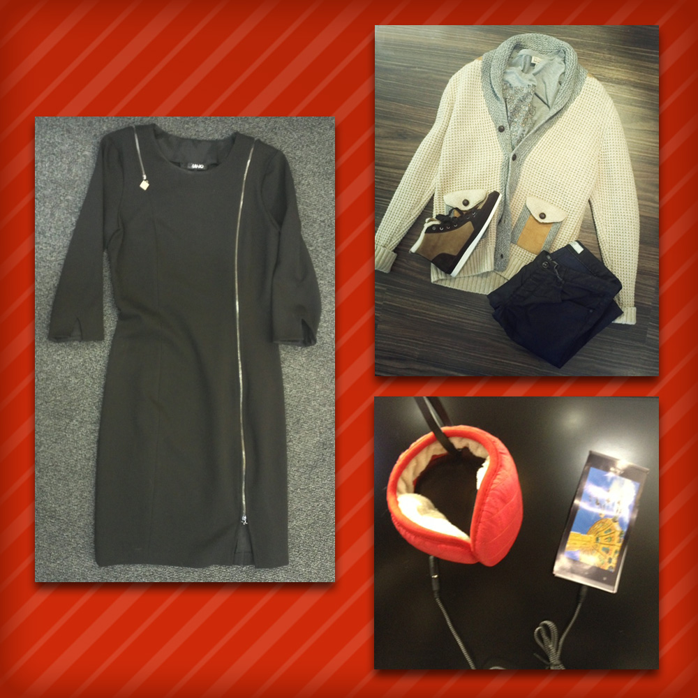 Homme: Gilet & T-Shirt Paul&Joe, Pantalon IKKS, Chaussure Paul Smith • Femme: Robe Liu Jo • Mino: Casque MUSIC & PHONE