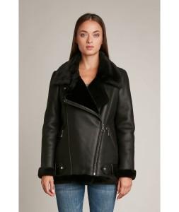 HP manteau-en-peau-lainee